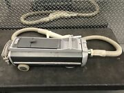 Electrolux Model 1453 Gray Canister Vacuum Cleaner With Vacuum Hose