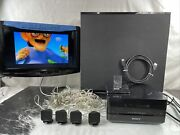 Sony Dav-is10 S Master Digital Amp Home System Receiver 4 Speakers Sub And Ipod