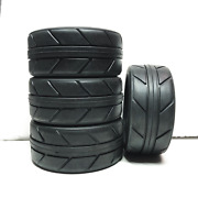 4pcs 28mm 1/10 On Road Rc Car Tires With Foams Can Be Used For 26mm Wheels