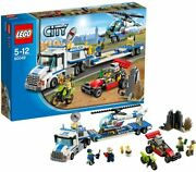 New Lego City Police Helicopter Carrier 60049 Number Of Pieces 382 From Japan Fs