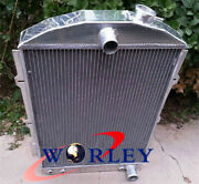 Aluminum Cooler Radiator For Chevy Hot/street Rod 350 V8 1938 Automatic