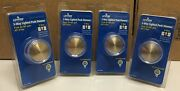 Lot Of 4 Leviton Rotary Dial Push On/off 3-way Light Dimmer Switches Clear 6684