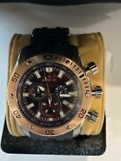 New 10247 Sea Spider Brown Dial Stainless Steel Men's Watch