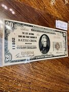 20 1929 United State Michigan Note Not Graded In Ch Cu63 Condition 100 Real