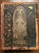 Antique Leather Bound Holy Bible With Apocrypha, Concordance, And Psalms Of David