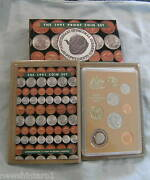 1991 Australian Proof Coin Set - Last Of 1 And 2 Cents, Rams Head 50 Cent