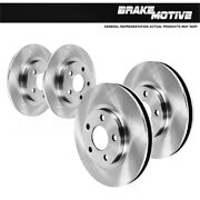 Front And Rear Premium Brake Rotors For 2006 2007 Mazda 6 Mazdaspeed Only