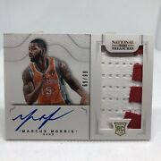 Marcus Morris 2012-13 National Treasures Rpa Rookie Auto Patch Jersey 69/99
