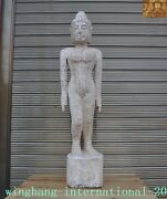 Chinese Wood Nude Medical Science Acupuncture Tcm Woman Human Body Model Statue