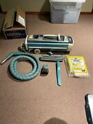 Vintage Electrolux Automatic Control Vacuum Cleaner Canister W/power Head Works