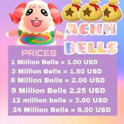 Animal Crossin New Horizons Bells Fast Delivery
