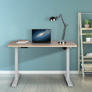 Electric Height Adjustable Standing Desk Frame Memory Touch Control Silent Work