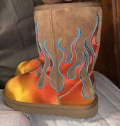 Jeremy Scott Flame Uggs Pre-owned But Worn Once Size Us 5