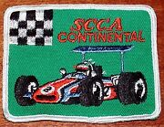 12 Vintage 1960's Scca Continental Formula Race Car Embroidered Patches Racing