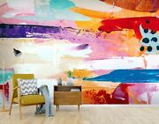 3d Color Pattern Zhua2072 Wallpaper Wall Murals Removable Self-adhesive Zoe
