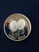 1991 Ace Hardware Mardi Gras New Orleans 1991 Fall Show Silver Medal E4134