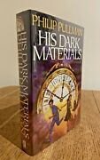His Dark Materials By Philip Pullman 2000 Signed Us Sfbc 1st/1st Hb