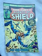 1973 Nick Fury And His Agents Of Shield 1 Steranko Cover Comic Book Raven