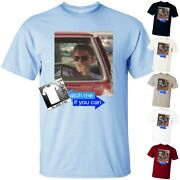 Catch Me If You Can V1 Crime Movie Poster Dtg Print Men T Shirt All Sizes S-5xl