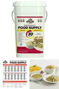 Emergency Food Survival Supply Prepper Storage Bucket 30 Day Rations Kit 20 Lbs