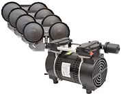 Easypro Pa86a 3/4 Hp Rocking Piston Pond And Lake Aeration System   No Tubing