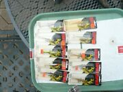 Lot Of 10 Rapala Ice Fishing Jigging Minnows All Nos W-7 Mint In Pack Finland