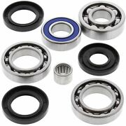 Wrp Differential Bearing And Seal Fits Rear Arctic Cat 375 2x4 W/at 2002