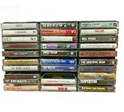 Class Rock Cassette Tapes - You Pick - Billy Joel, Grateful Dead, The Police