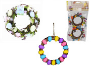 Easter Door Table Wreath Glitter Eggs Home Decorations Flowers Arts And Crafts