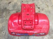 1985 Honda Atc70 Rear Fender Cracked Right Side 4