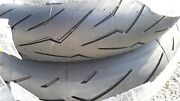 Pirelli Tires Front 120/70zr17 Rear 200/55zr17 Rosso Ii Motorcycle Tires
