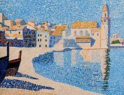 Collioure, The Bell Tower 16 X 20 Acrylic On Board By Michael Byro