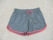 Columbia Shorts Womans Small Gray Pink Athletic Outdoors Running Ladies A79