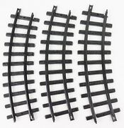 New Bright Gold Rush Express G Scale Curved Train Track X3 B Plastic