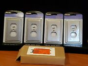 4 Amerelle - Decor Collection - Brushed Nickel - Outlet Cover - New