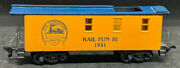 Pcr Convention Rail Fun And03981. 1981 Yellow Caboose Rare. Ho Scale Vintage