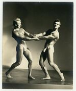 Gay Male Nude Beefcake Physique 1940 Spartan Of Hollywood Bodybuilder Hunk Q7112