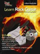 Learn Rock Guitar Intermediate [with Cdwith Dvd] By John Mccarthy English Pape
