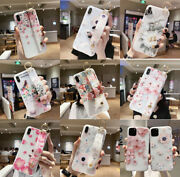 2 Cases 3d Emboss Flower Girl Cute Phone Case Iphone11 Promax Pro Xr X Tpu Stand