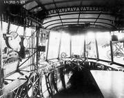 Old Aviation History Photo The Control Room Of The Airship Uss Shenandoah 1923