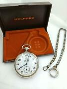 Helbros Railway Pocket Watches Hand-wound Vintage Operationally Tested