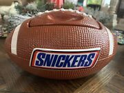 Vintage Snickers Candy Football Cookie Jar Mint Condition Advertising Piece Vhtf