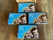 The Best Of Abbott And Costello 4 Cassette Tapes W/ Wooden Container Preowned