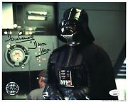 Rip- Star Wars Official Pix- Dave Prowse Darth Vader Signed 8x10 Photo Jsa Coa