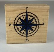 Rubber Stampede Rubber Stamp Compass A262-e