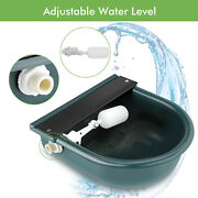 Automatic Grade Plastic Water Bowl Trough Horse Cattle Goat Sheep Farming Aa