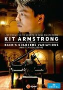 Kit Armstrong Performs Bachand039s Goldberg Variations [new Dvd]