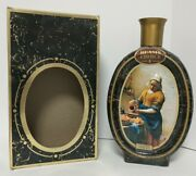 Beam's Choice Collector's Edition - A Maidservant Pouring Milk Decanter Empty