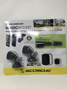 Scosche Magic Mount Magnetic System For Car Mounting Smartphones And Tablets New