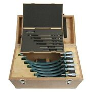 Mitutoyo 103-909 103 Series 6-piece Sae Mechanical Outside Micrometer Set